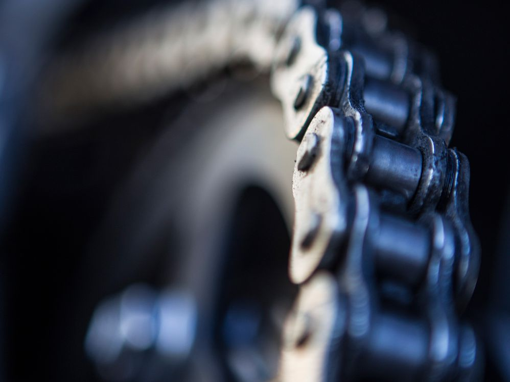 Motorcycle Chain and Front/Rear Sprocket Alignment Issues