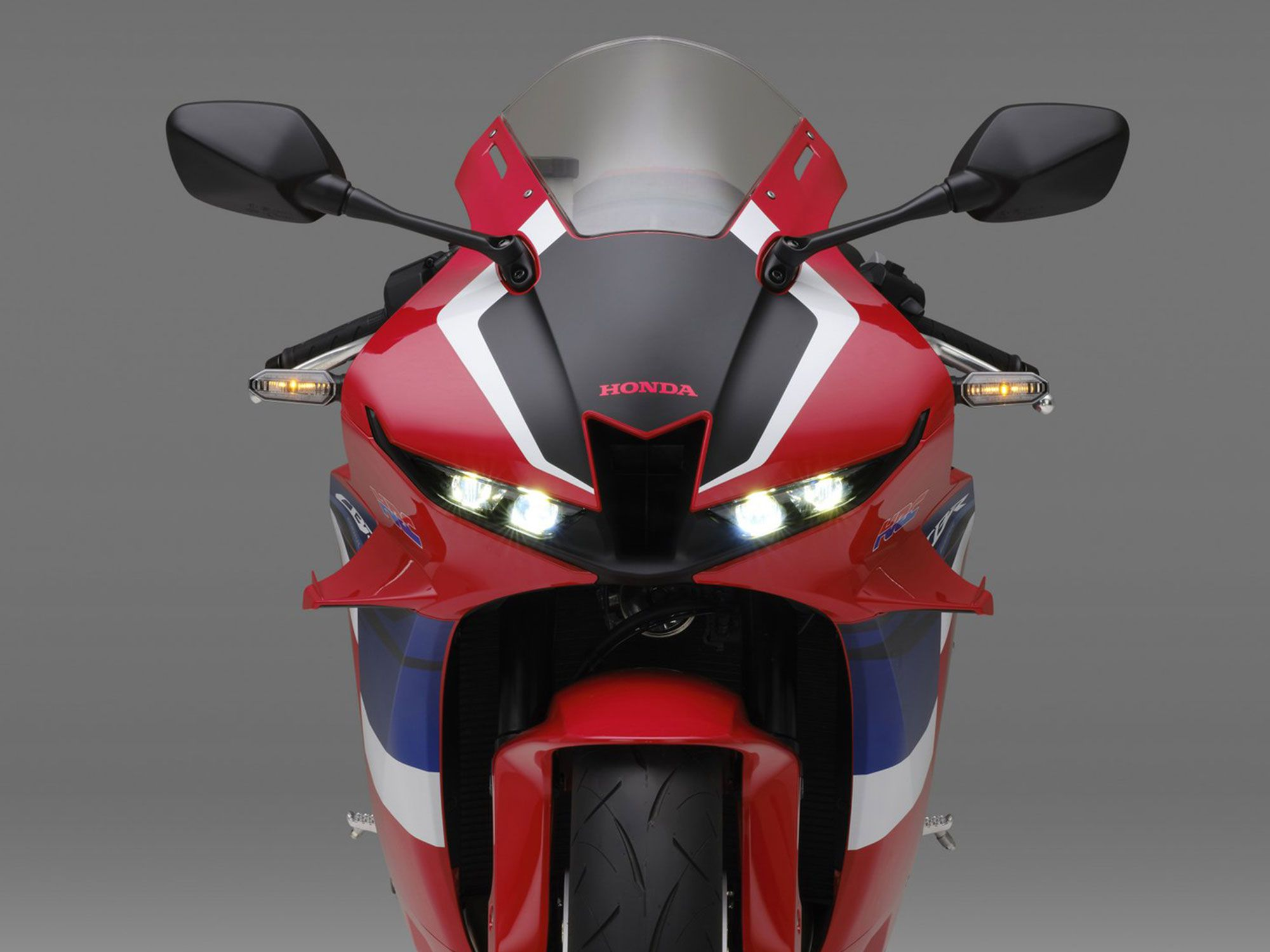 Squintier, now—LED lights and a revised fairing are new for 2021.