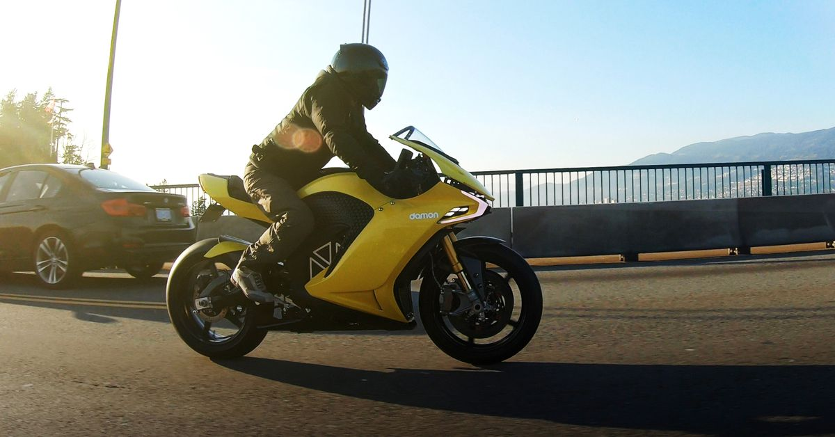 Damon Motorcycles Announces Game-Changing Hypersport Pro
