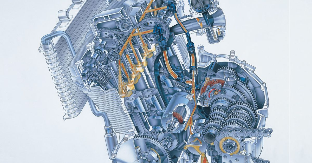 How A Motorcycle Engine Works | Cycle World