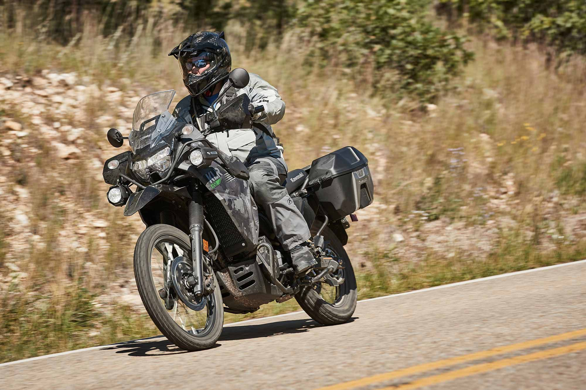 Kawasaki's KLR650 gets fuel injection along with a host of other updates for 2022.