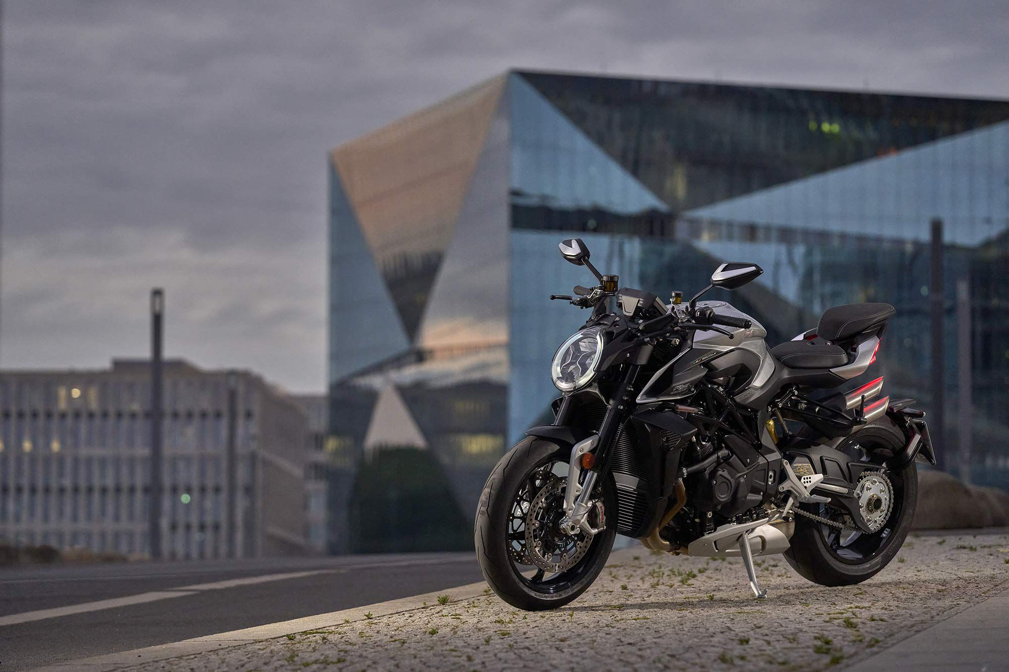 The Brutale is aptly named: Has a family of motorcycles ever looked as deliberate, exotic, aggressive, and densely muscular as the current lineup?