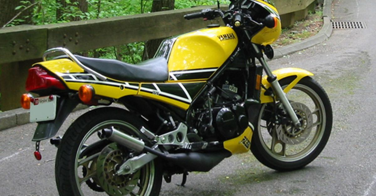 Yamaha RZ350, RD350LC Motorcycle History, CLASSICS REMEMBERED