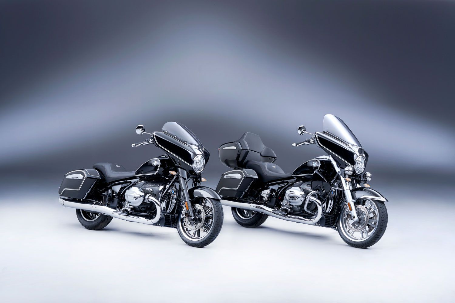 The 2022 BMW R 18 B and R 18 Transcontinental first editions.