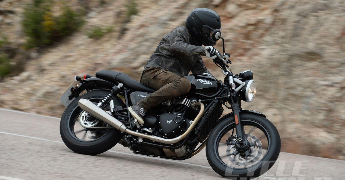 2016 Triumph Bonneville Street Twin First Ride Motorcycle
