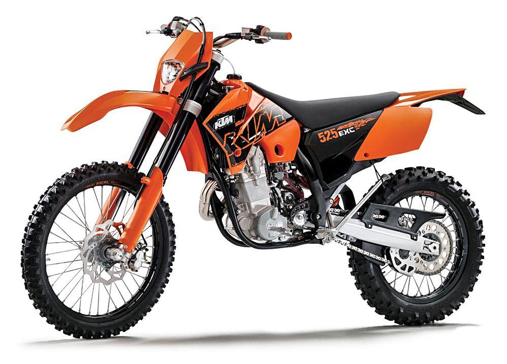 KTM 520 EXC & 525 EXC Off-Road Bike, Best Used Motorcycles