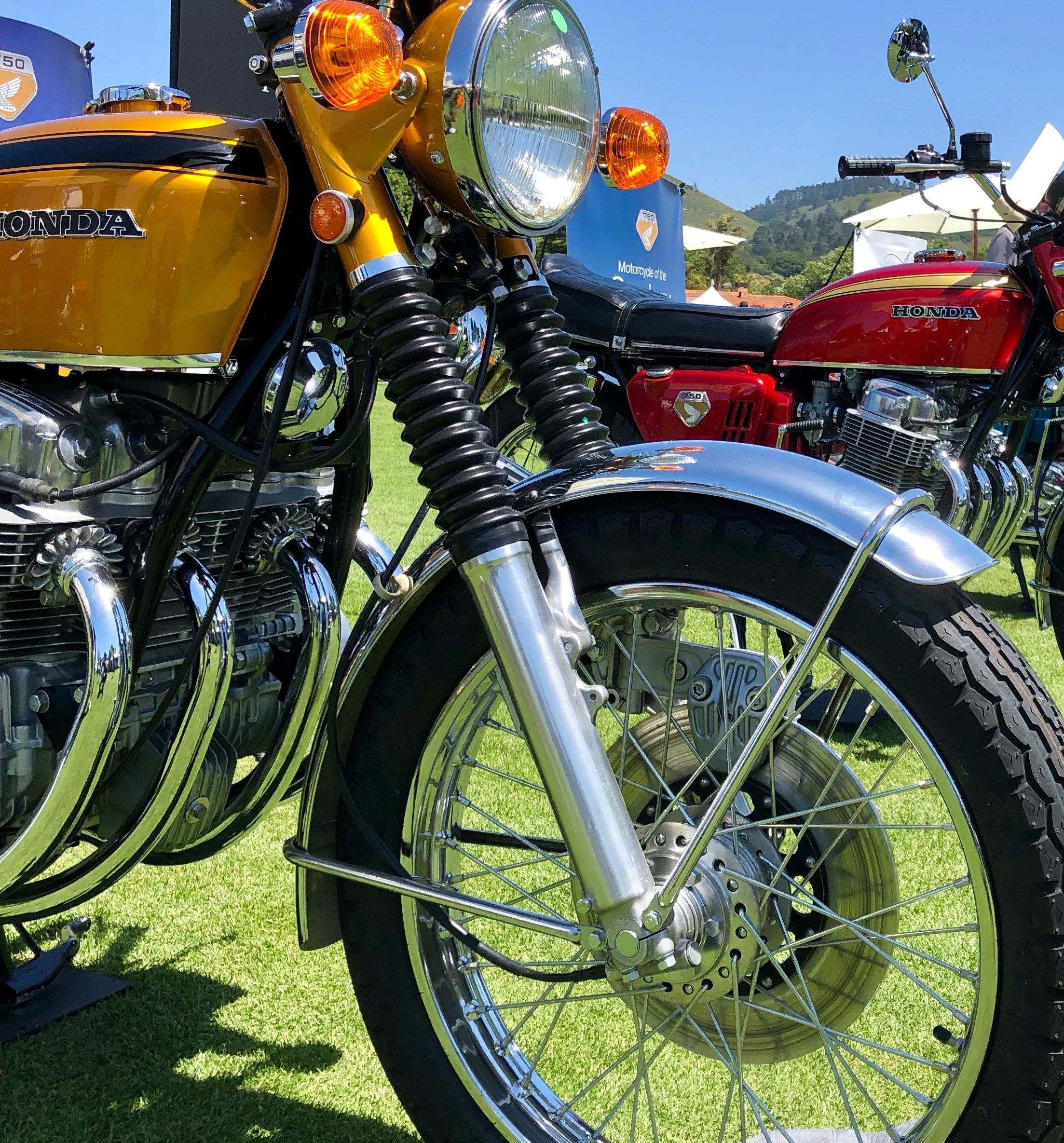Disc brakes on the CB750 were also a first for production motorcycles of the late 20th century.