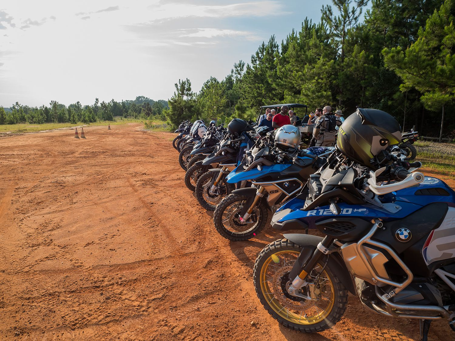 Using BMW-supplied motorcycles allow you to get the most out of the two-day class.