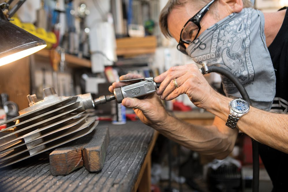 How to Hand-Build a Motorcycle Engines, Skills & Techniques