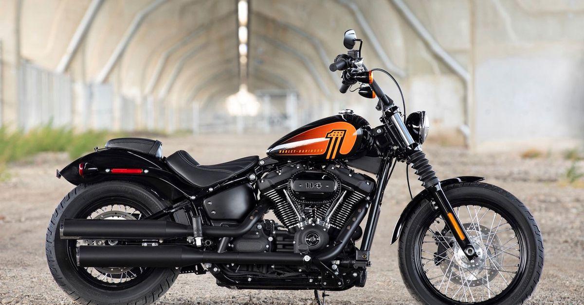 2021 Harley-Davidson Street Bob 114 Первый взгляд