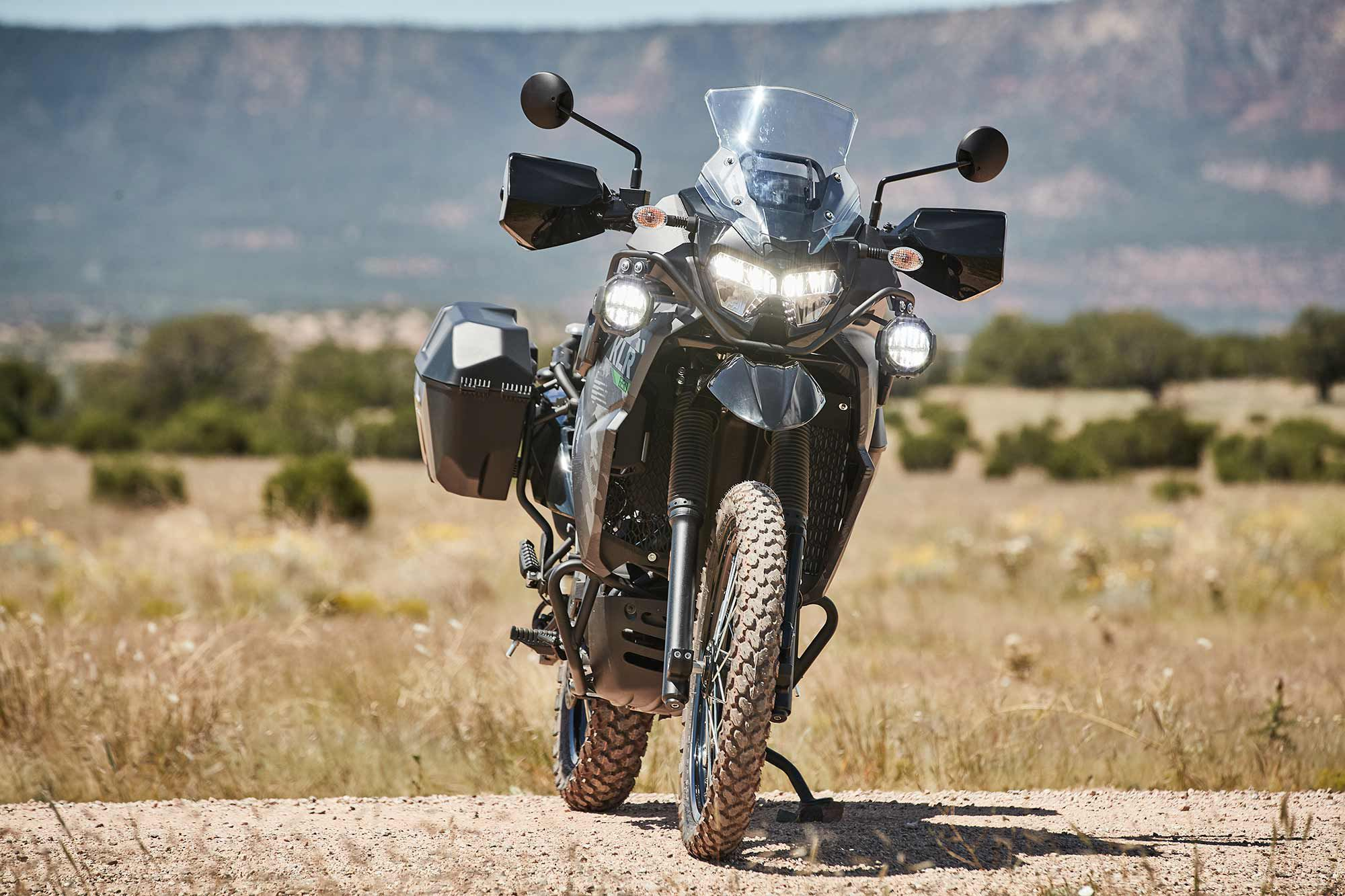 While the KLR650 doesn't have any standout features, it doesn't have many weaknesses—just what is needed from a trustworthy adventure companion.