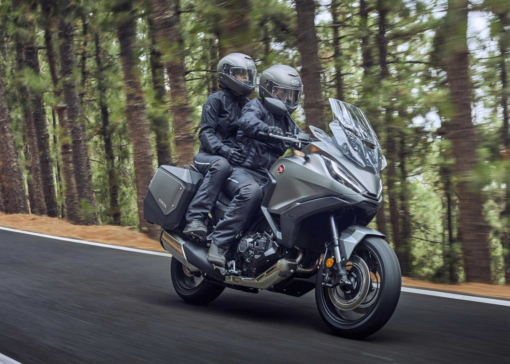 Honda's new NT1100 sport-tourer will come in two flavors and carries over the Africa Twin's steel frame as well as its engine.