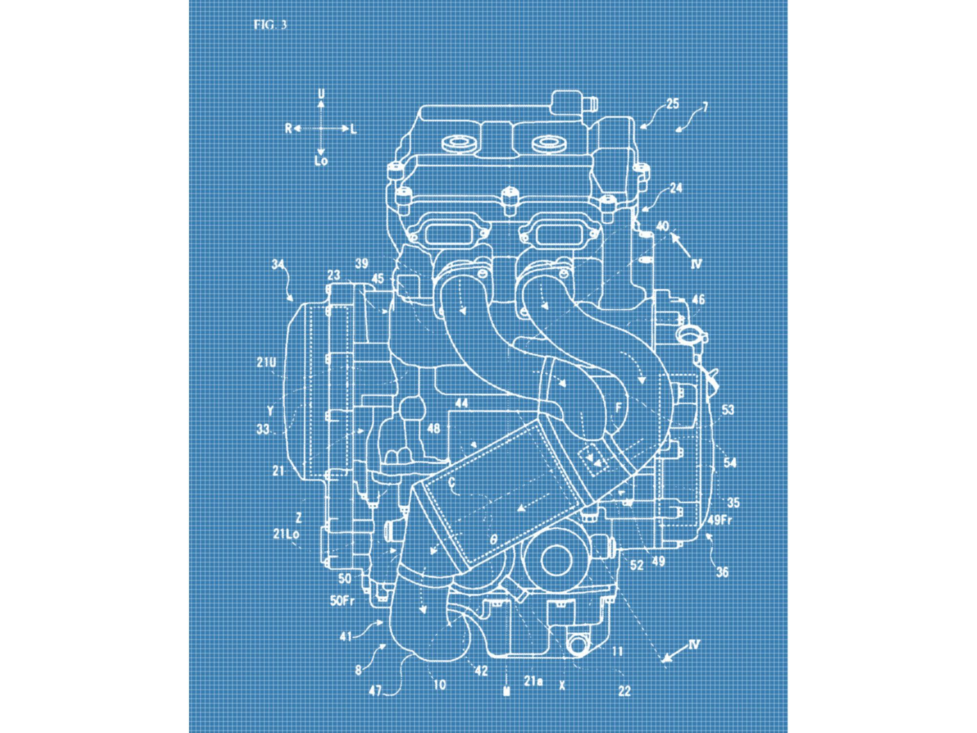 Without a turbo, the normally aspirated engine has to accommodate longer header pipes and reposition the cat.