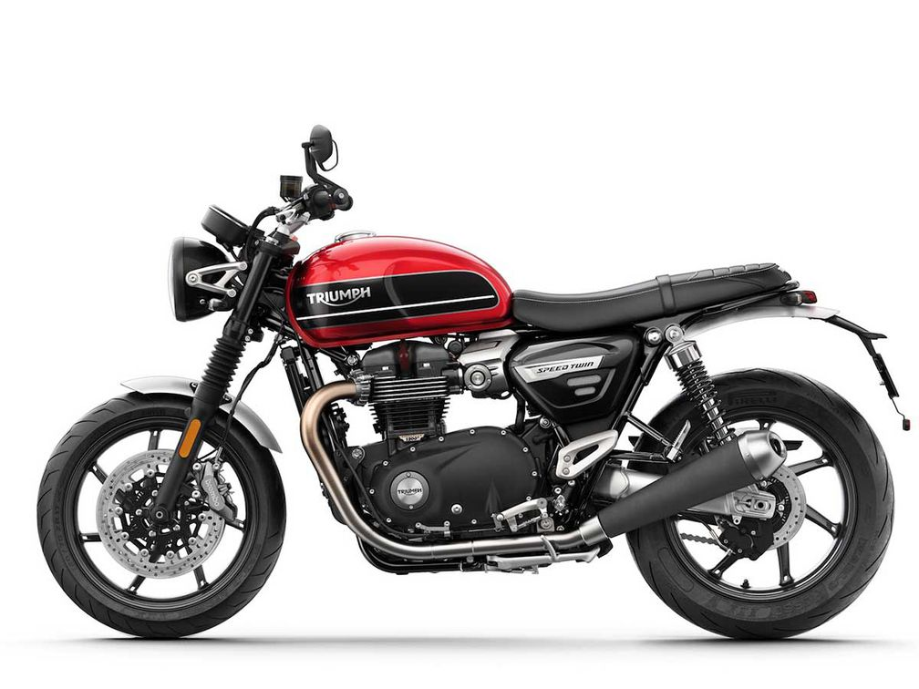 2019 Triumph Speed Twin Cycle World