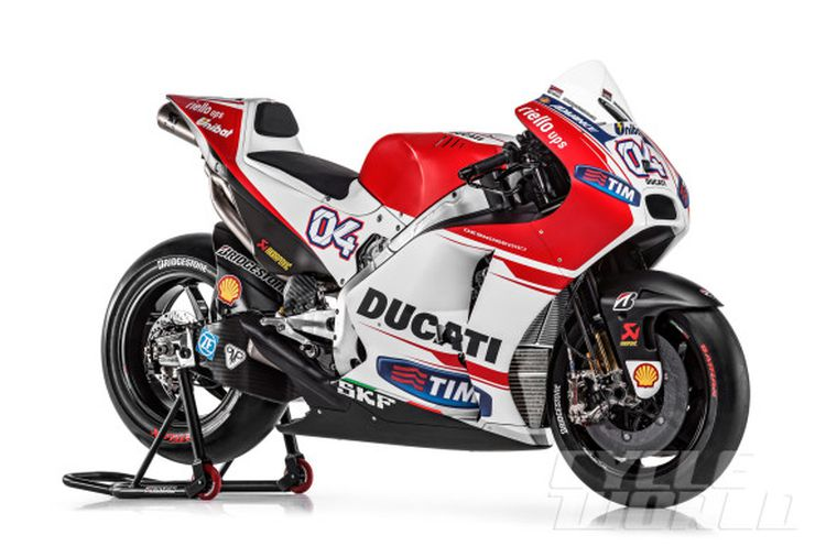 Ducati Team Unveils New Gp15 Motogp Racebike For 2015 Race Watch Cycle World