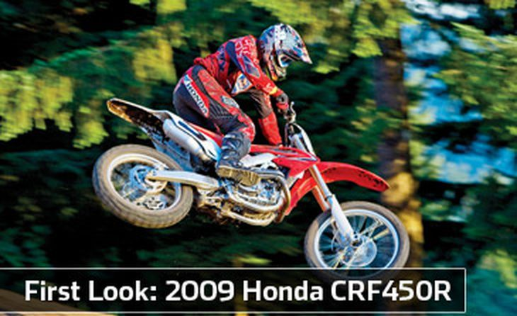 Admirable 2009 Honda Crf450R First Look Cycle World Gmtry Best Dining Table And Chair Ideas Images Gmtryco