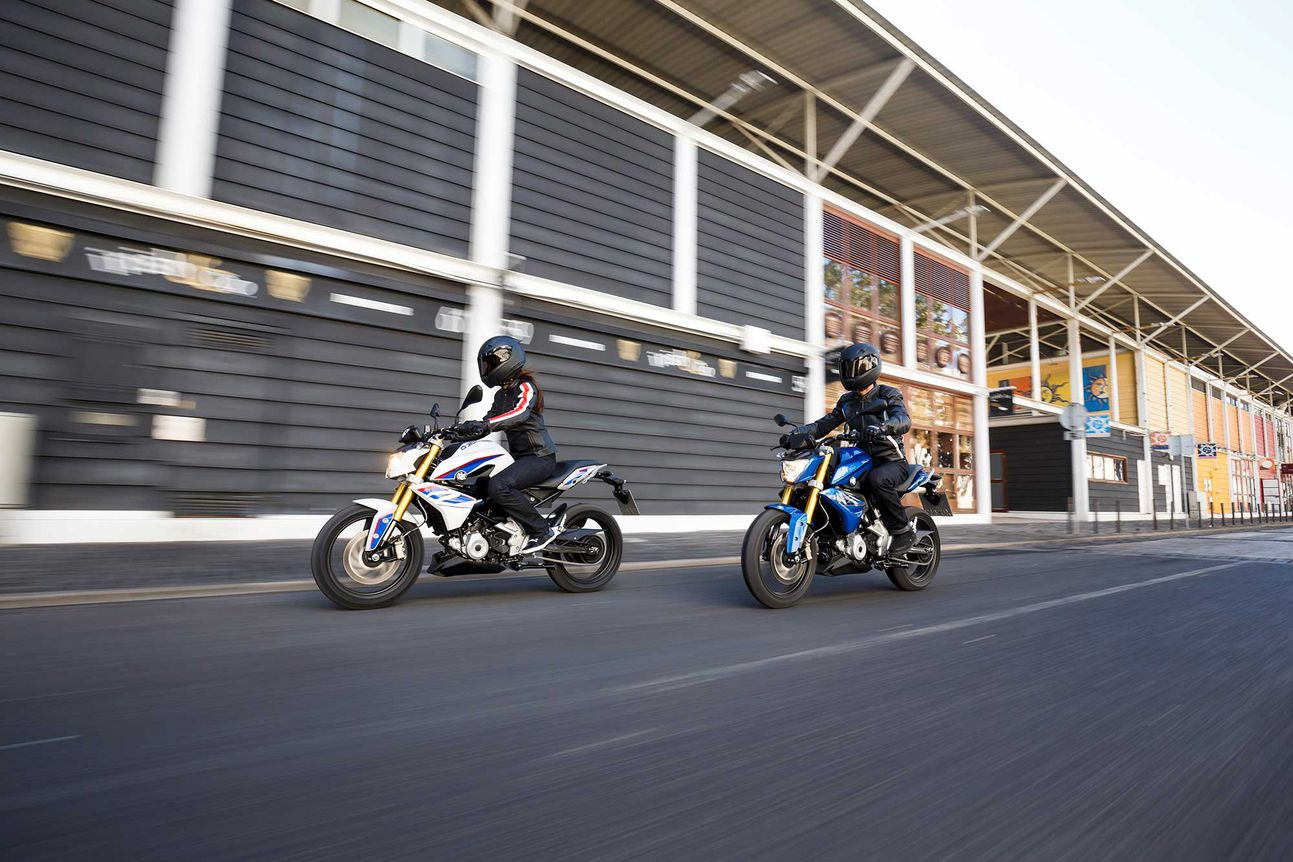 """Along with offering two G 310 models, BMW is reaching out to younger riders through social opportunities, and by transforming BMW into an """"experience brand."""""""