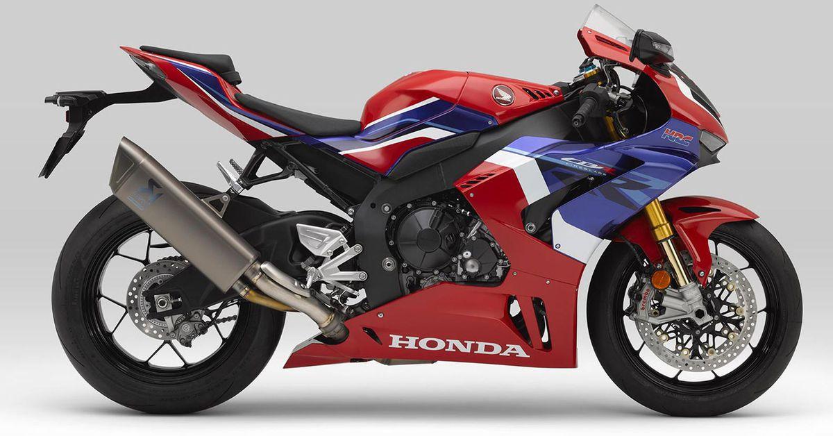 Honda CBR1000RR-R Fireblade SP 2021 года