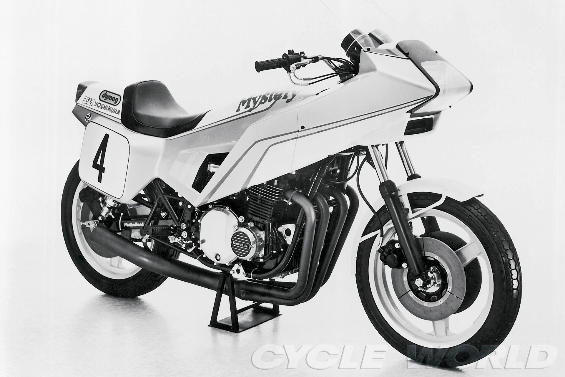 "Fairing maker Craig Vetter built the Kawasaki ""Mystery Ship"" that mysteriously never caught on."