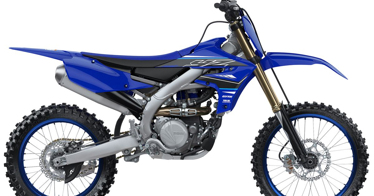 Yamaha YZ450F 2021 года