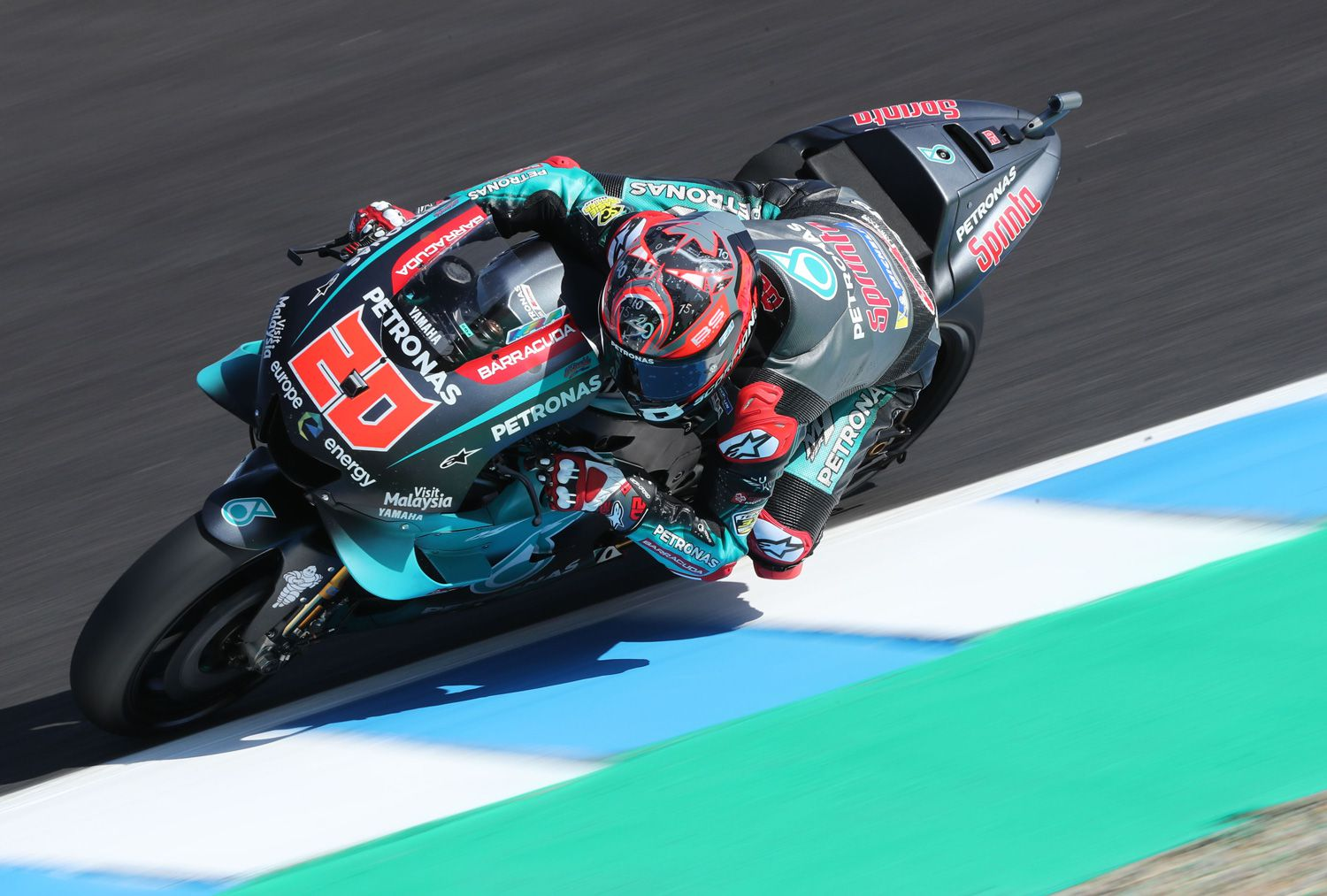 Quartararo is set to receive top-spec factory machines at his Petronas Sepang Racing Team during the 2020 season, then moving to the factory squad next year.