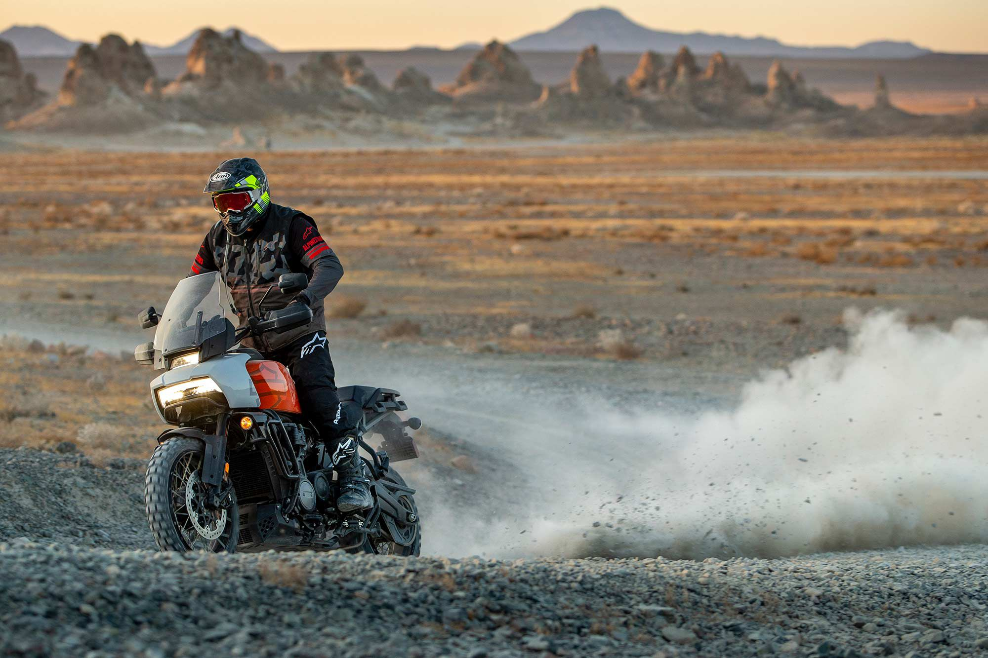 Adventure bikes such as the Harley-Davidson Pan America need a flat torque curve to be usable in a variety of situations.