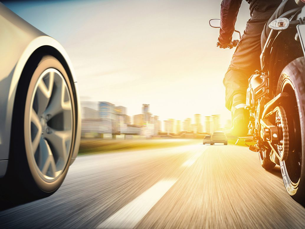 self-driving vehicles and motorcycles