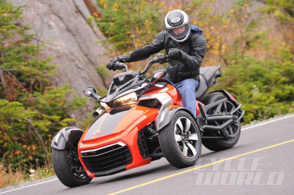 2015 Can-Am Spyder F3 Three-Wheeler First Ride Review