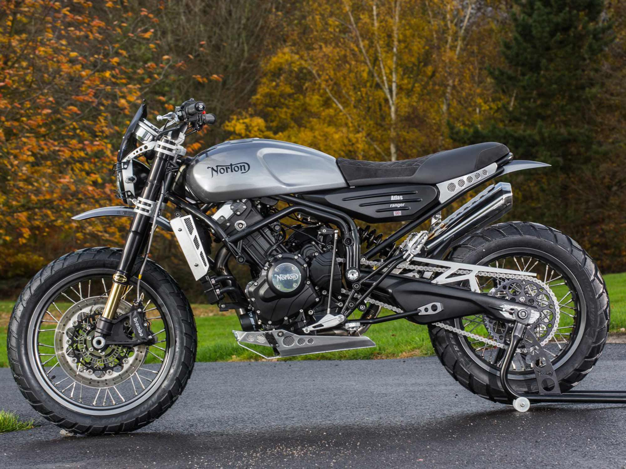 """Norton was purchased by TVS for 16 million pounds ($19.84 million); the Indian manufacturer vows to return Norton to """"its full glory in the international motorcycle landscape."""""""