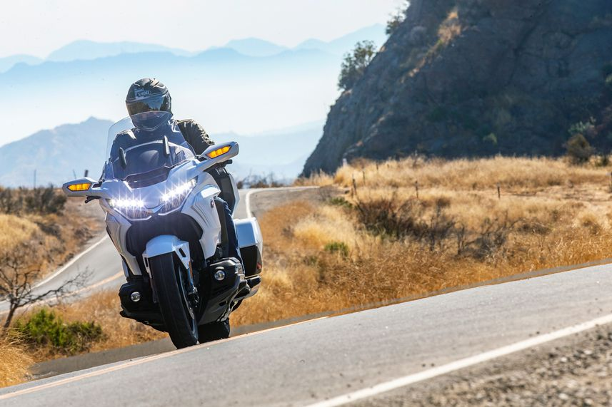 2020 Honda Gold Wing Tour DCT Test Review