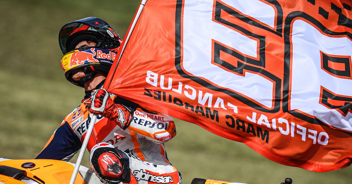Márquez Wins Last-Lap MotoGP Thriller At Slippery Misano