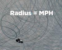 yamaha champions riding school champu radius = mph diagram