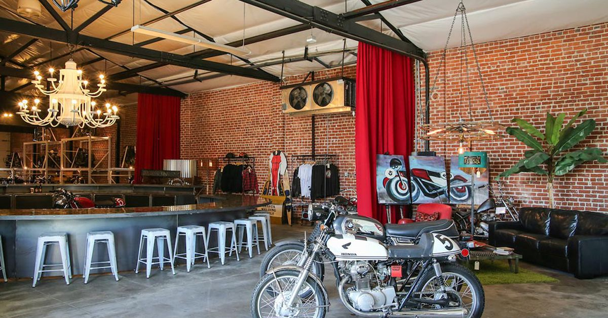 The Vintage Monkey's Shasta Smith Does Motorcycle Social Big