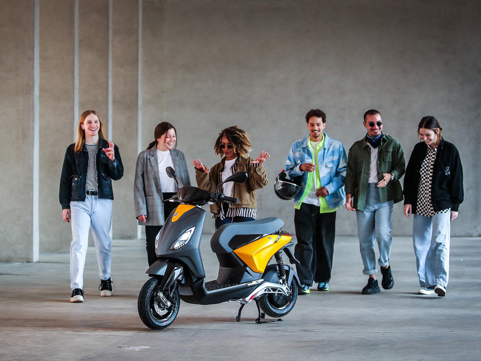 The One is bedoeld voor jonge rijders met een betaalbare prijs en 4 kW vermogen.
