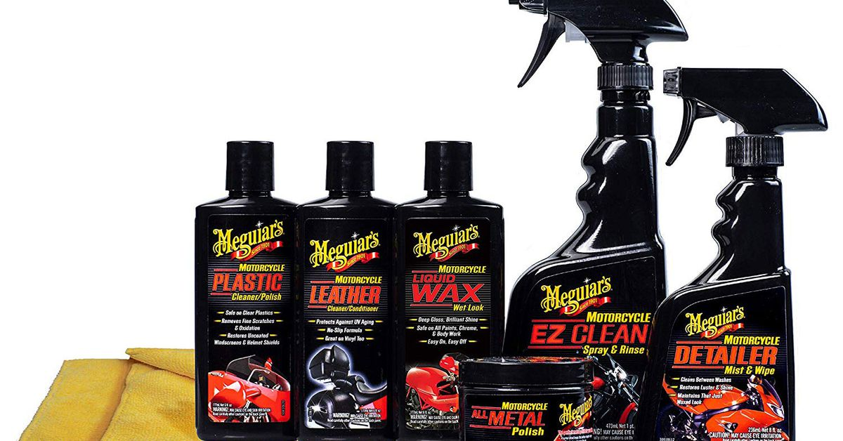 5 Motorcycle Cleaners We Love