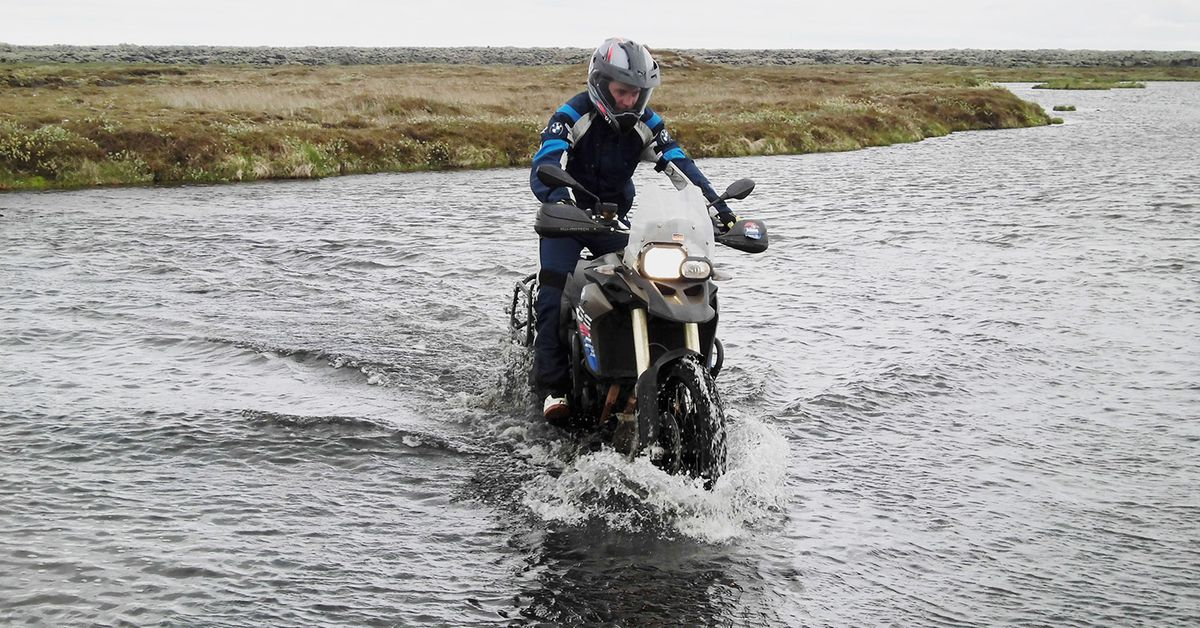 How To Cross Water On Adventure Motorcycles