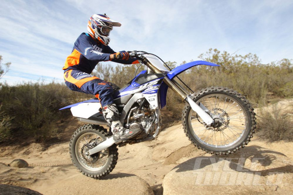 2015 Yamaha YZ250FX & WR250F First Ride Motorcycle Review